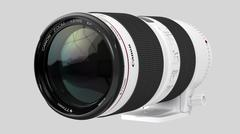 Canon Zoom Lens EF 70-200mm 1:2.8 L IS II USM - 3D model