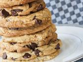 Stock Photo of chocolate chip cookies