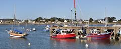 Port of La-Trinité-sur-Mer in France - stock photo