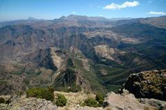 Stock Photo of mountain array