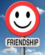 Friendship Stock Illustration