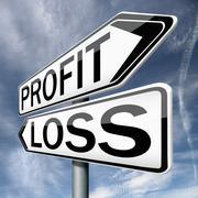 profit loss - stock illustration