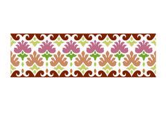 Ottoman seamless pattern 02 basic Stock Illustration