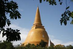Prapathomjedi temple Stock Photos
