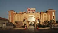 Stock Video Footage of Entrance to the Sea Breeze Hotel in Sharm-el-Sheikh