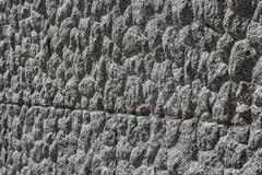 Granite block surface closeup - stock photo