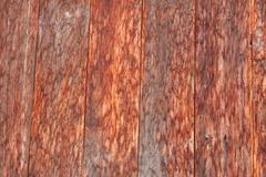 Dirty old wooden red. Stock Photos