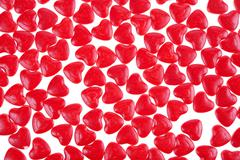 Stock Photo of red hearts background