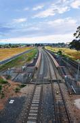 Stock Photo of railway station in adelaide