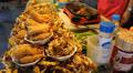 Seafood Stall. Footage