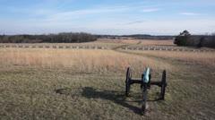 Civil War Battlefield 5 Stock Footage