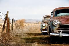 Vintage cars Stock Photos