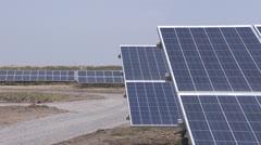 Solar panel Stock Footage