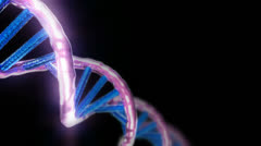 Loopable Animated 3D DNA Helix Stock Footage