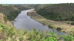 Carribean - river - la romana Stock Footage