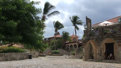 Dominican republic - village Stock Footage