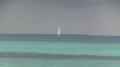 Dominican republic - sea Stock Footage