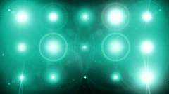 Concert flashing lights 3 Stock Footage
