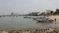 Pattaya beach. Stock Footage