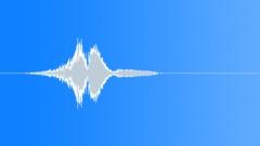 Badminton racket swoosh slow short Sound Effect