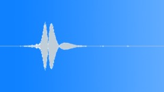 Badminton racket swoosh slow long Sound Effect