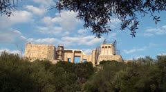Acropolis of Athens - stock footage