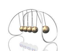 Pendulum 3d Stock Illustration