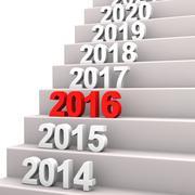 stairway 2016 - stock illustration