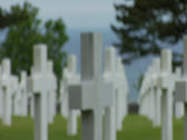 Stock Video Footage of NORMANDY_OMAHA BEACH