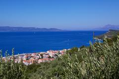 makarska riviera - stock photo