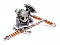 Viking equipment Stock Photos