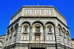 battistero di san giovanni in florence, italy - stock photo