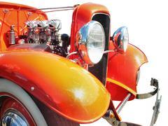 Moottori vanha auto Kuvituskuvat