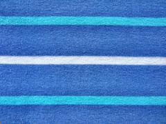 Blue colored textile Stock Photos