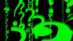 QUESTION MARKS Stock Footage