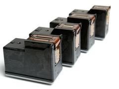 Ink cartridges Stock Photos