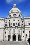 national pantheon or santa engracia church, alfama, lisbon, portugal - stock photo