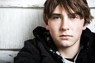 Stock Photo of Teen male portrait
