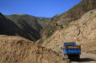 Stock Photo of metal mine gansu province china