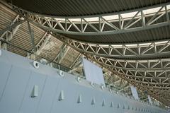 modern shenyang airport liaoning province china - stock photo