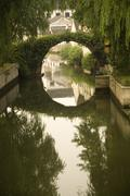 shaoxing bridge, zhejiang, china - stock photo