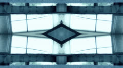 Aliens building fractal - stock footage