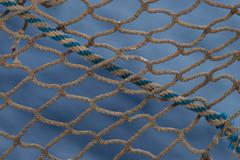 Abstract fishing net Stock Photos