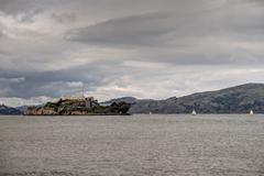 Alcatraz island Stock Photos