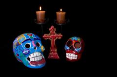 dia de los muertos (day of the dead) alter - stock photo