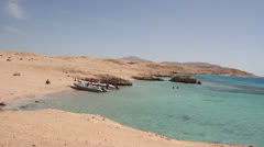 Tiran Island, Egypt Stock Footage