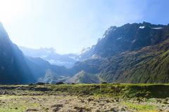 Sunrise Over El Altar Volcano In Sangay National Park Ecuador View From West To Stock Photos