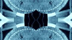 Aliens building fractal Stock Footage