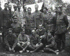 World War 1 - US Crew posing Stock Footage