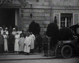 Stock Video Footage of World War 1 - Hospital life and Crew posing